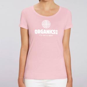 camiseta-ecologica-mujer-rosa-logo
