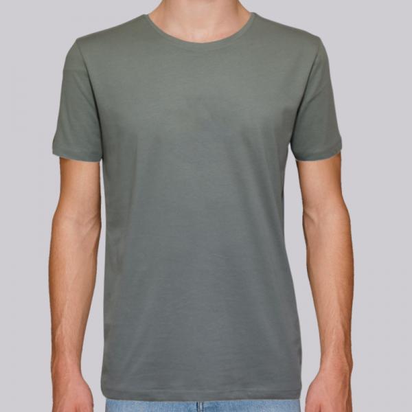 camiseta-ecologica-hombre-verde-lisa