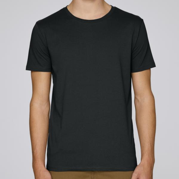camiseta-ecologica-hombre-negra-lisa