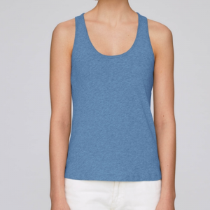 camiseta-ecologica-tirantes-azul-lisa