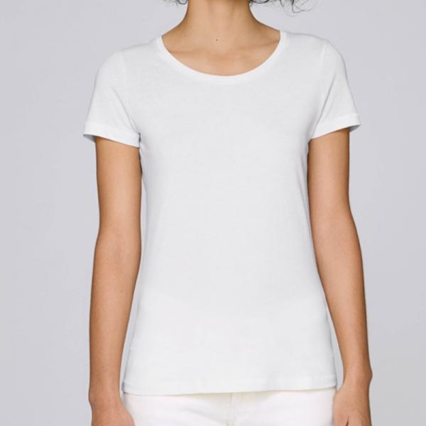 camiseta-ecologica-mujer-blanca-lisa