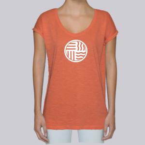 camiseta-ecologica-mujer-naranja-elements