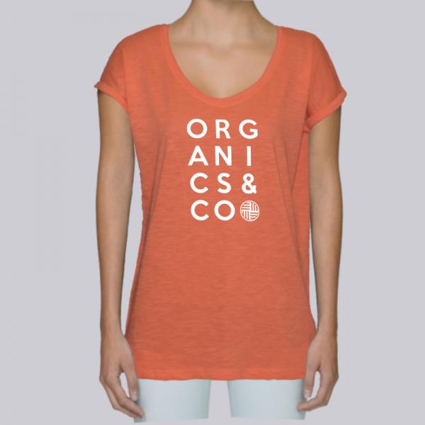 camiseta-ecologica-mujer-naranja-organicsandco