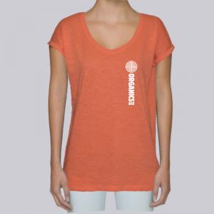 camiseta-ecologica-mujer-naranja-sport