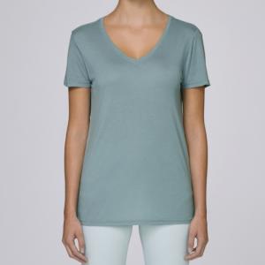 camiseta-modal-mujer-azul-lisa