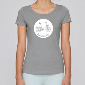 camiseta-ecologica-mujer-gris-bicicleta