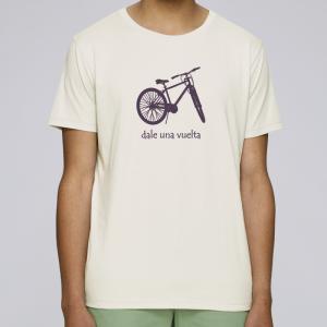 camiseta-ecológica-hombre-natural-bicicleta