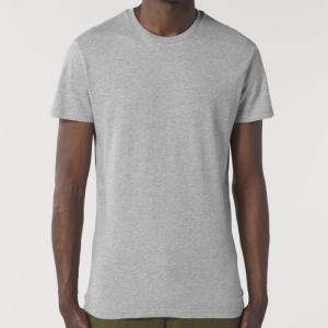 camiseta-ecologica-entallada-gris-lisa