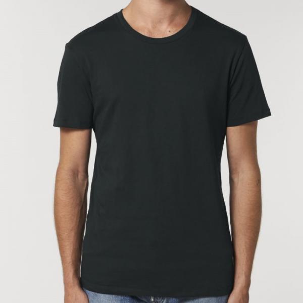 camiseta-ecologica-entallada-negro-lisa