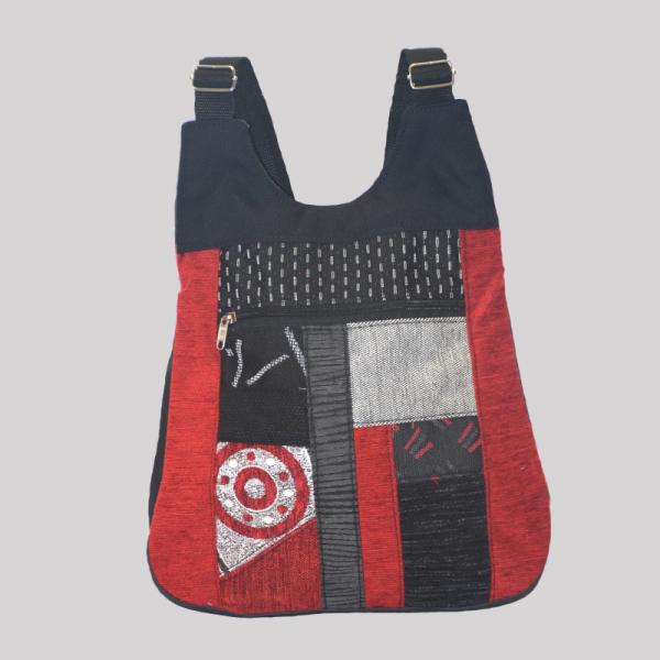 bolso-mochila-bandolera-artesano-roja