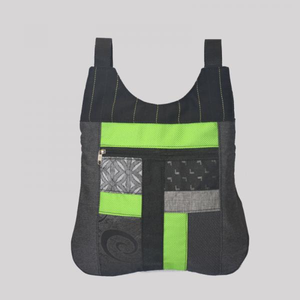 bolso-mochila-bandolera-artesano-verde
